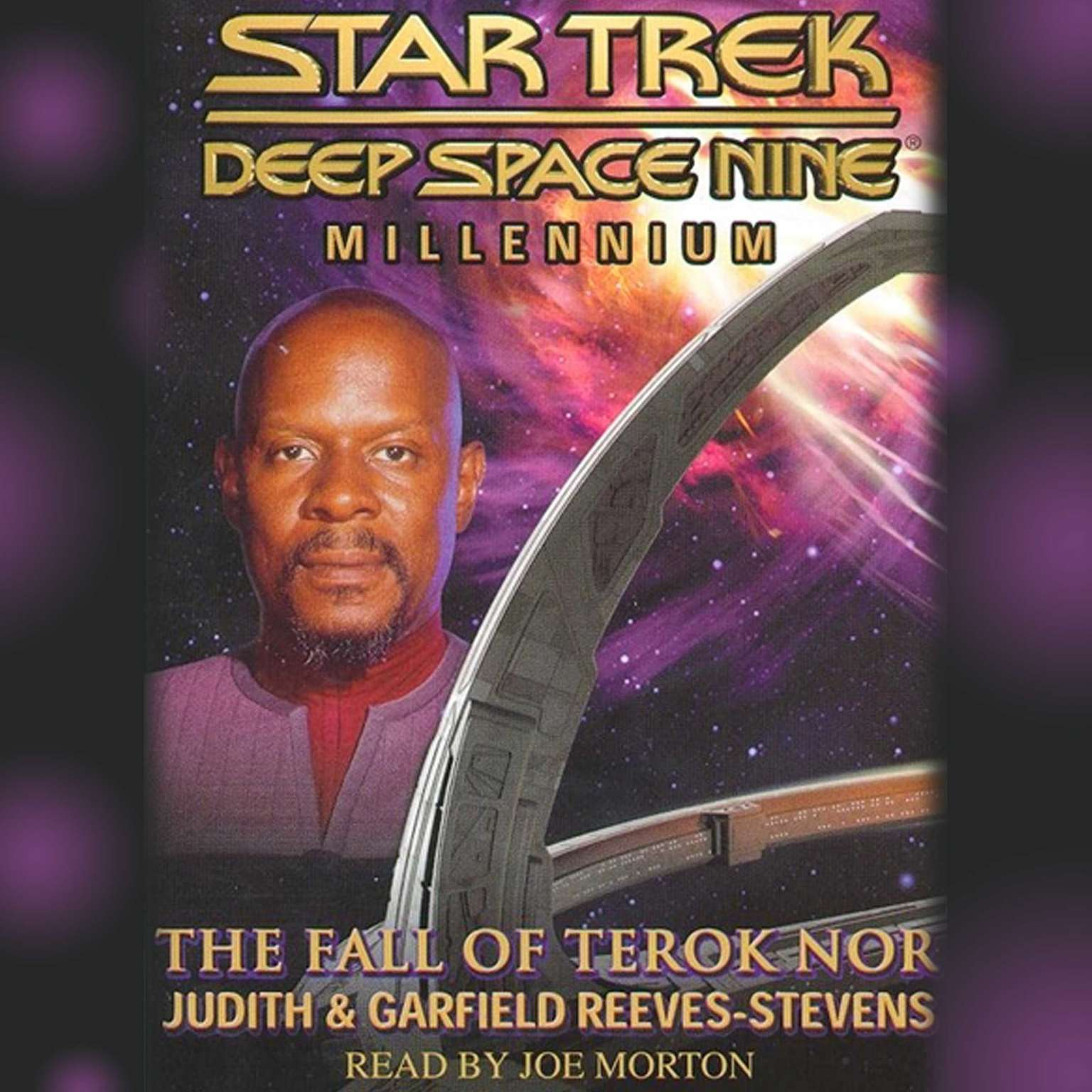 Printable Star Trek Deep Space Nine: Millenium Audiobook Cover Art