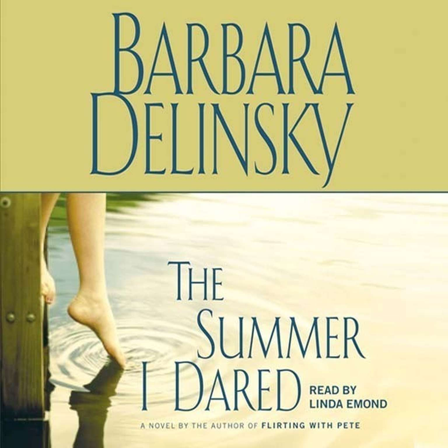 Printable The Summer I Dared: A Novel Audiobook Cover Art