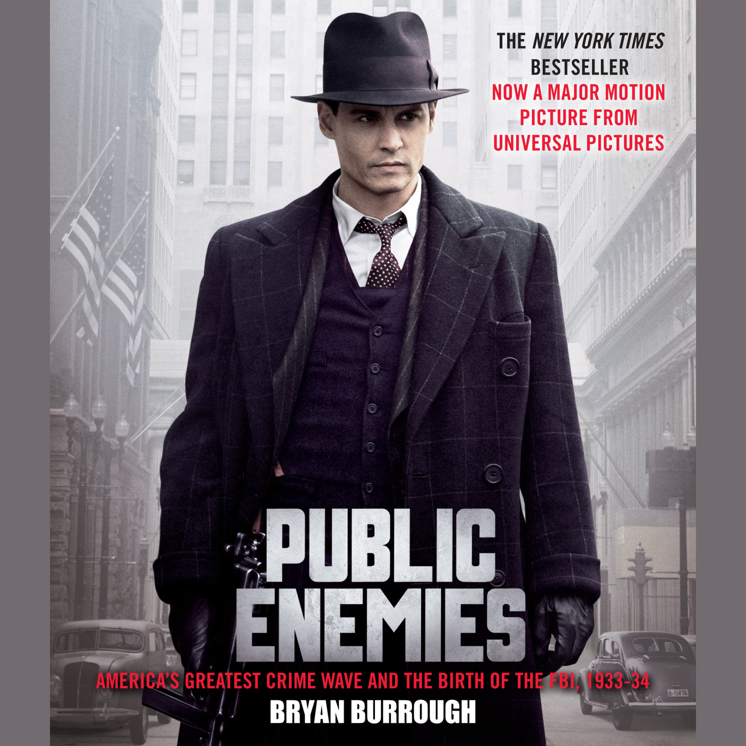 Printable Public Enemies: America's Greatest Crime Wave and the Birth of the FBI, 1933-34 Audiobook Cover Art