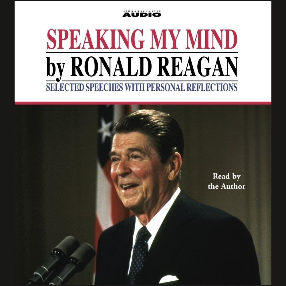 Printable Speaking My Mind Audiobook Cover Art