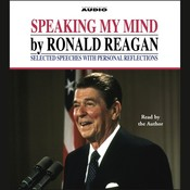 Speaking My Mind Audiobook, by Ronald Reagan
