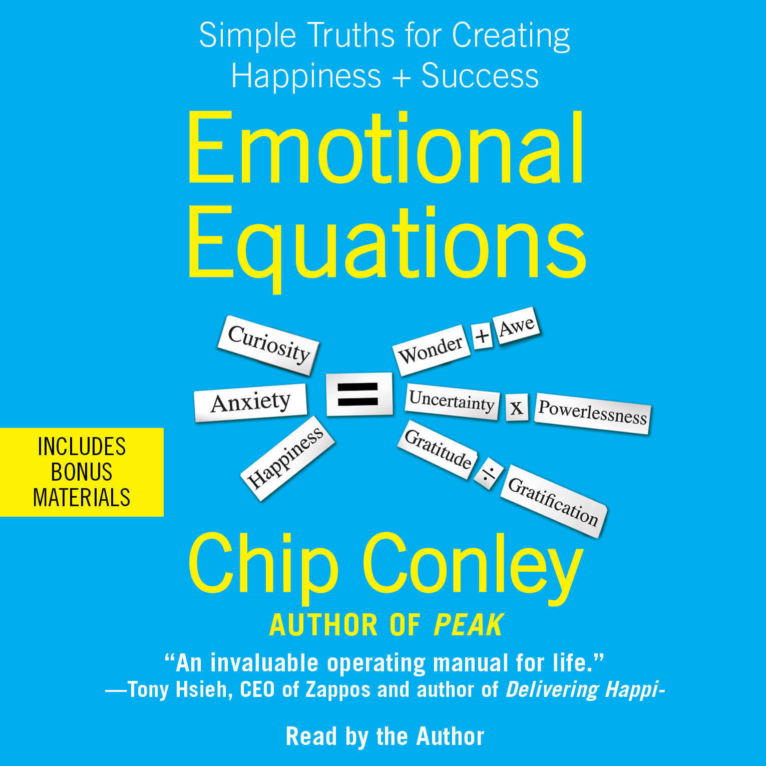 Printable Emotional Equations: Simple Truths for Creating Happiness + Success Audiobook Cover Art