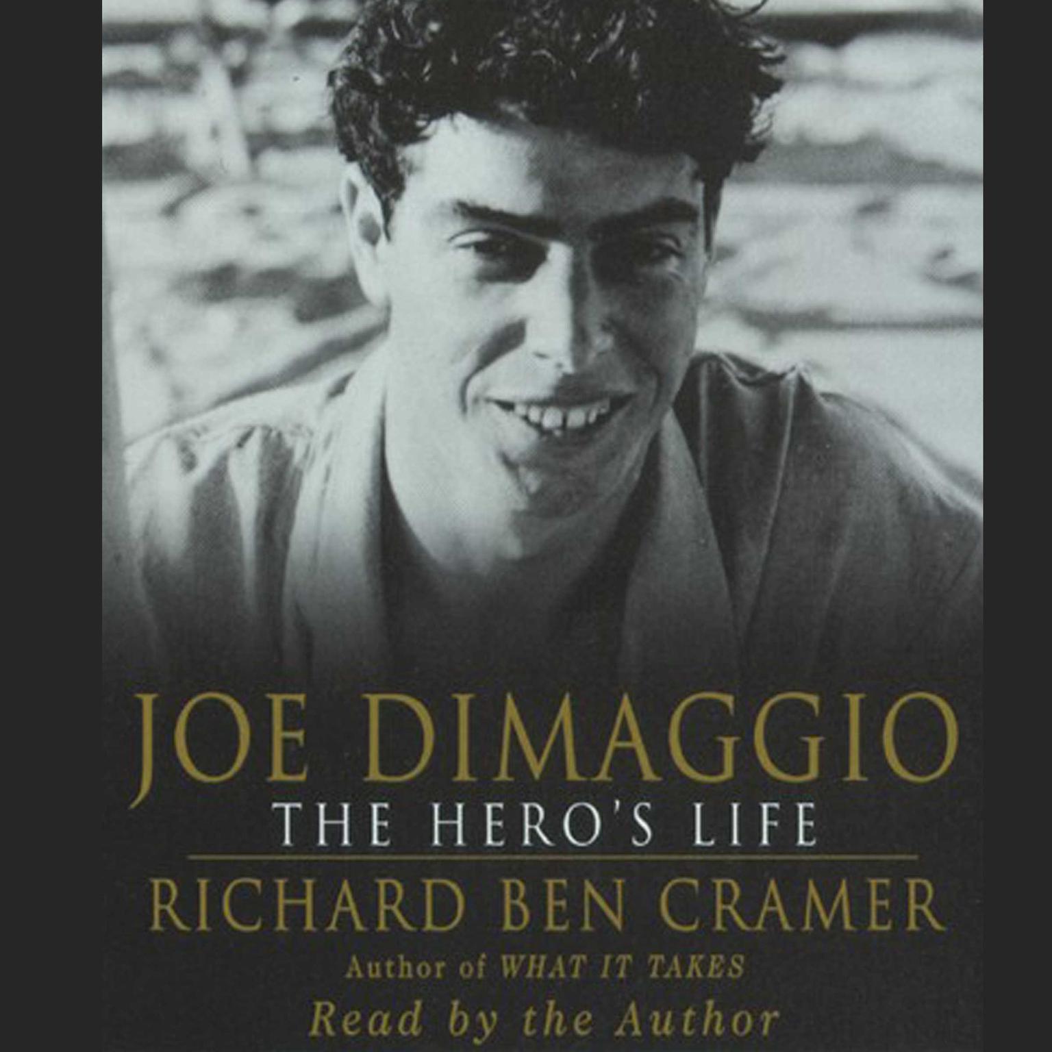 Printable Joe DiMaggio: The Hero's Life Audiobook Cover Art