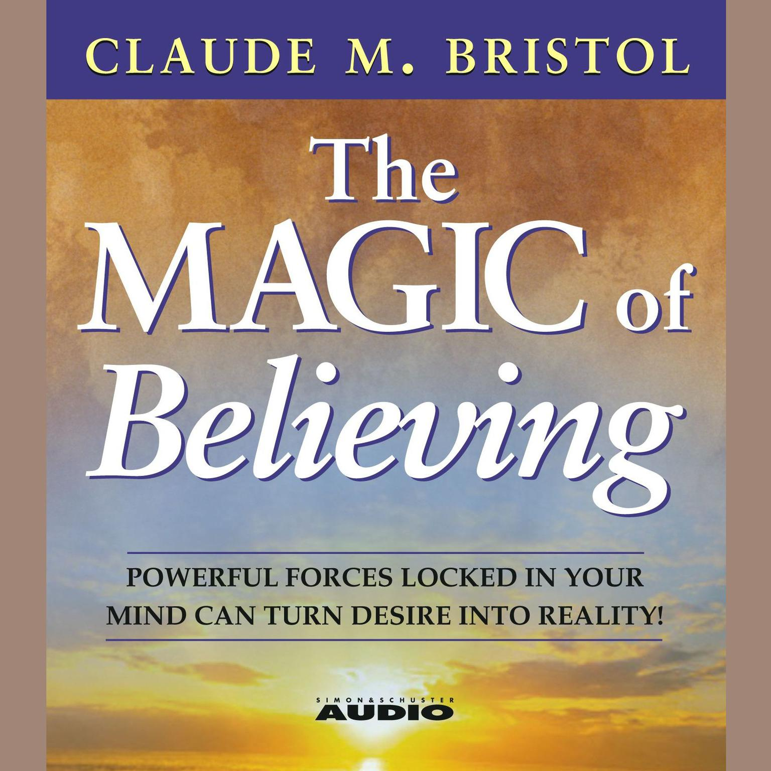 Printable The Magic Of Believing Audiobook Cover Art