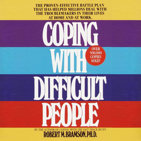 Printable Coping With Difficult People: In Business And In Life Audiobook Cover Art