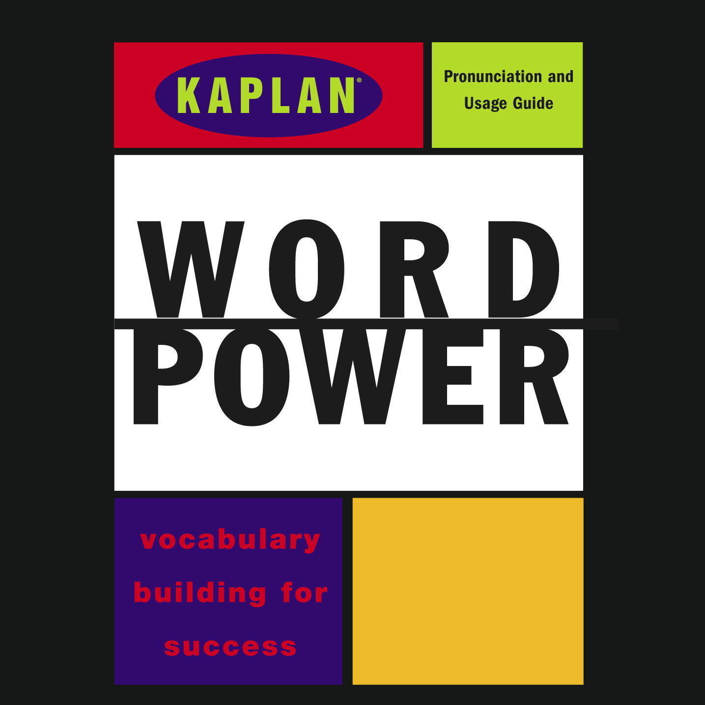Printable Kaplan Word Power: Vocabulary Building for Success Audiobook Cover Art