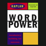 Kaplan Word Power: Vocabulary Building for Success, by  Kaplan