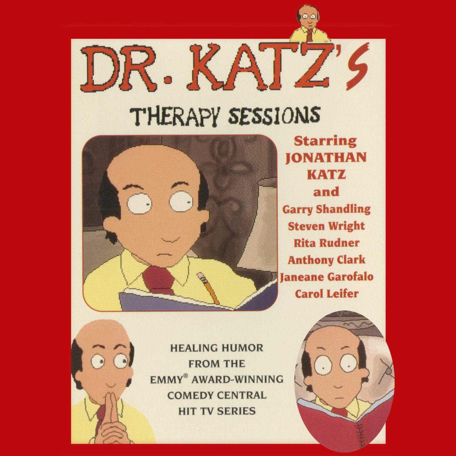 Printable Dr. Katz's Therapy Sessions Audiobook Cover Art