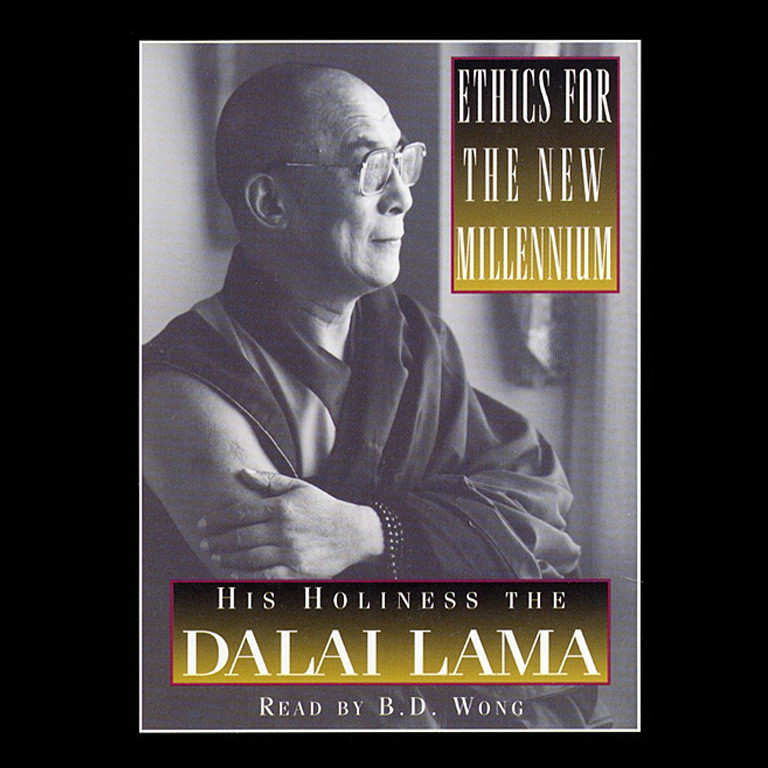 Printable Ethics For The New Millennium Audiobook Cover Art