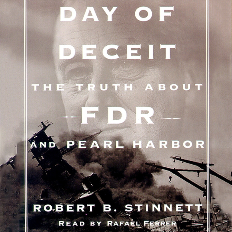 Printable Day of Deceit: The Truth About FDR and Pearl Harbor Audiobook Cover Art