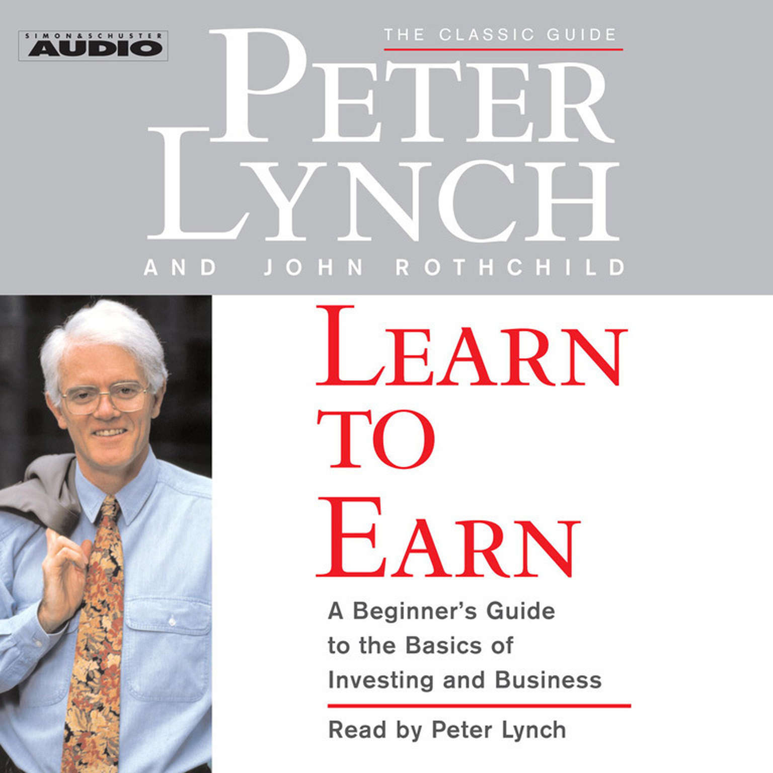 Printable Learn to Earn: A Beginner's Guide to the Basics of Investing Audiobook Cover Art