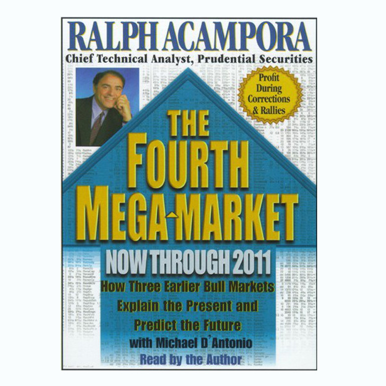 Printable The Fourth Mega  Market: How Three Earlier Bull Markets Explain the Present and Predict the Future. Audiobook Cover Art