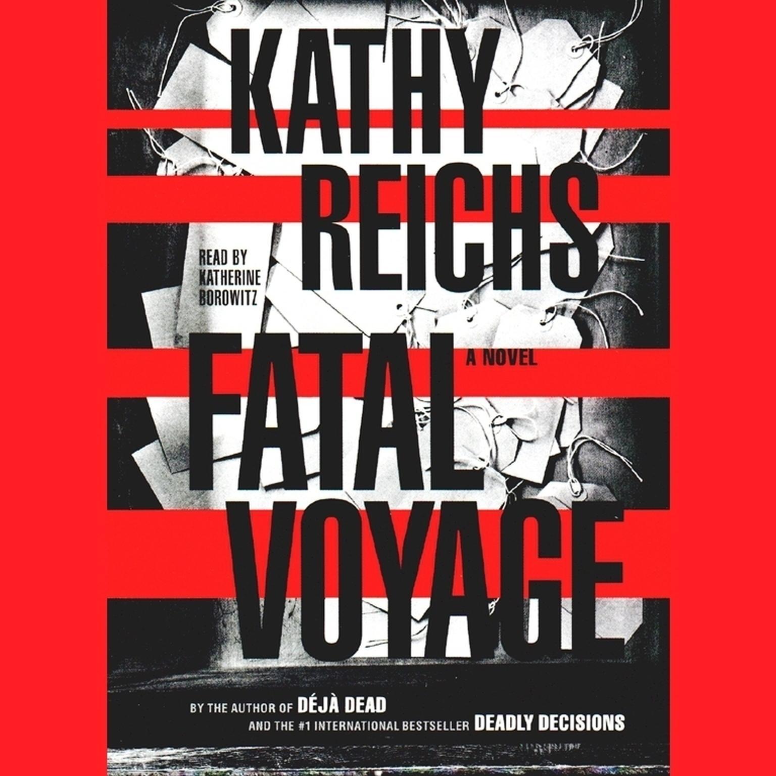 Printable Fatal Voyage Audiobook Cover Art