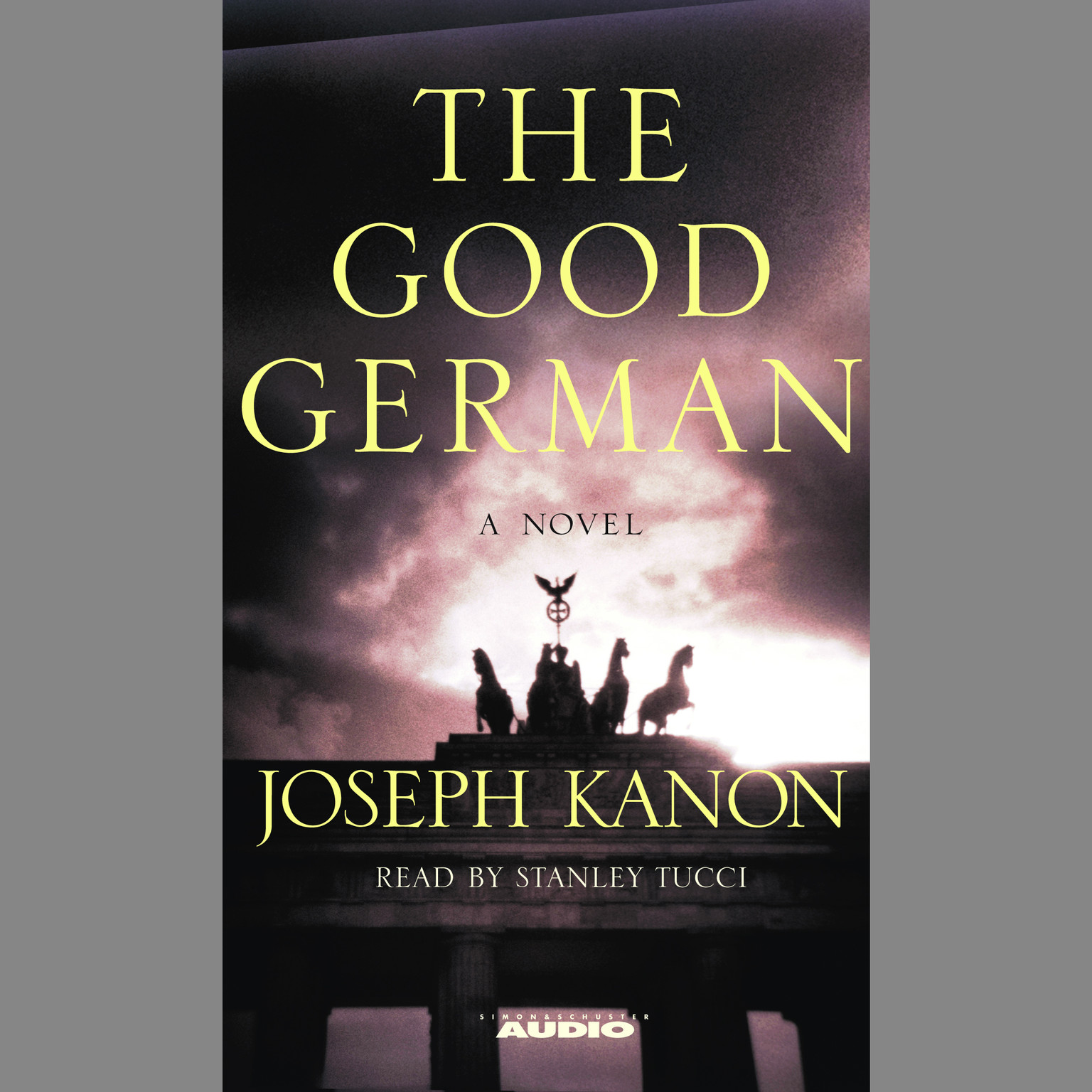 Printable The Good German Audiobook Cover Art