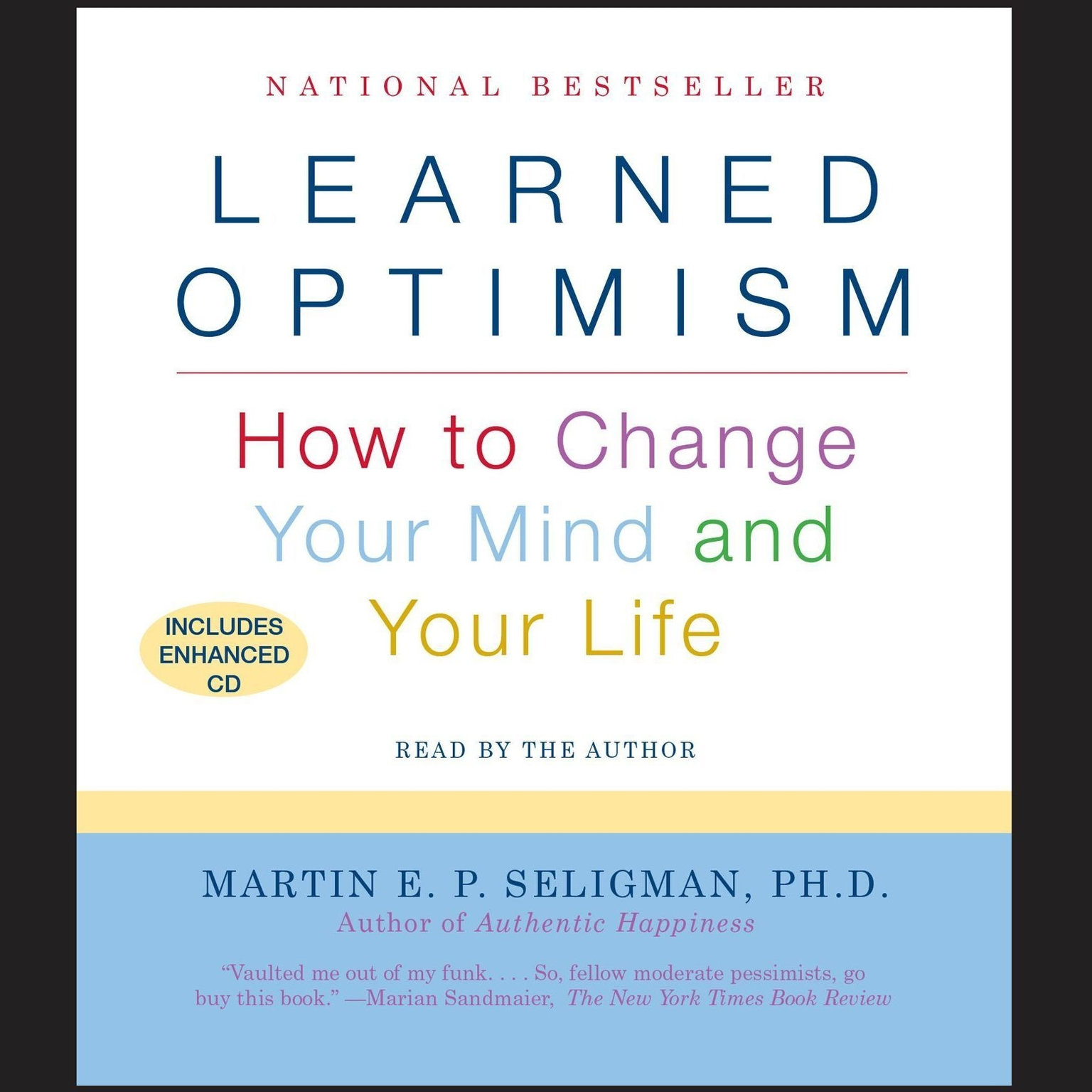 Printable Learned Optimism: How to Change Your Mind and Your Life Audiobook Cover Art