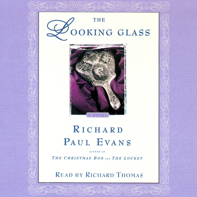 Printable The Looking Glass Audiobook Cover Art