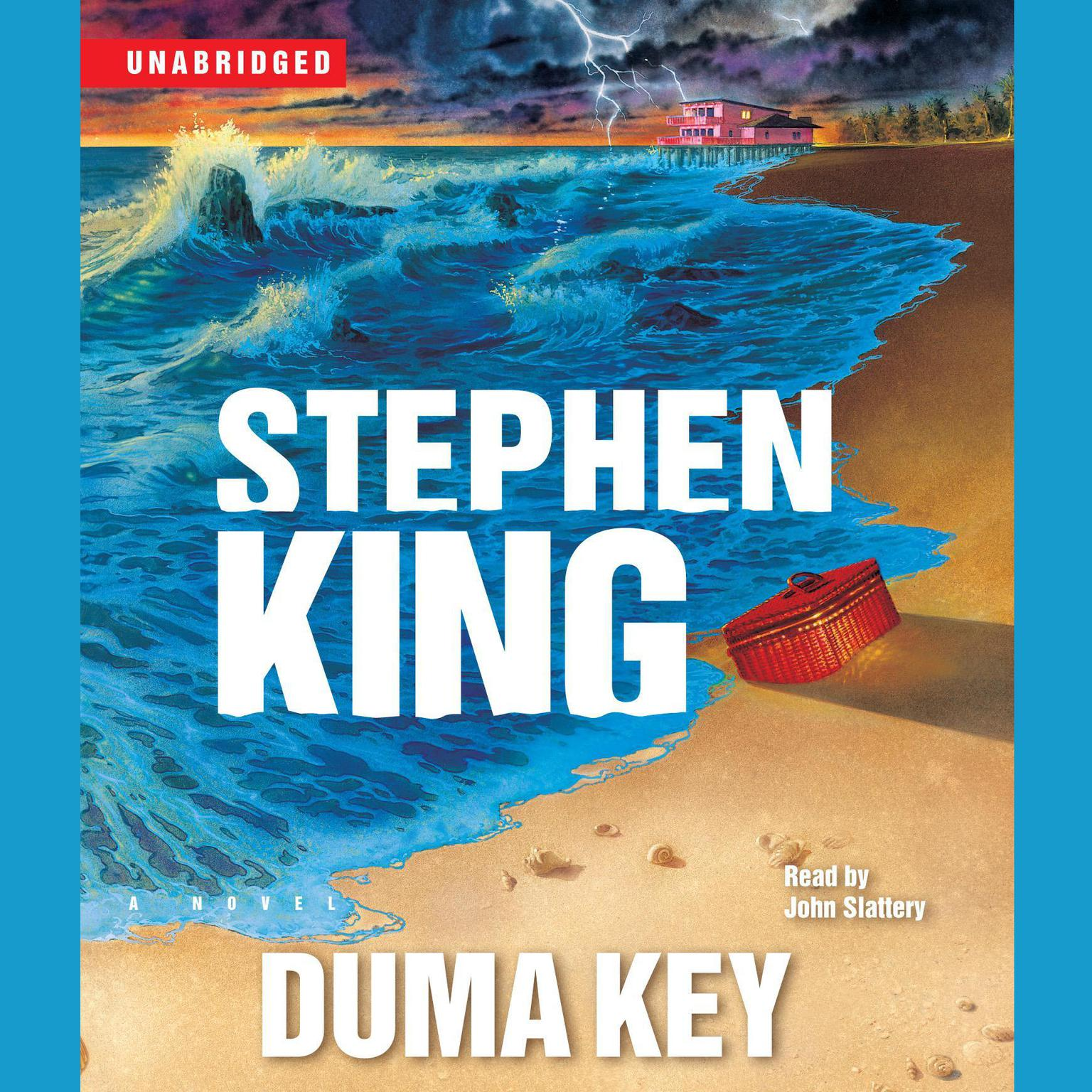 Printable Duma Key: A Novel Audiobook Cover Art