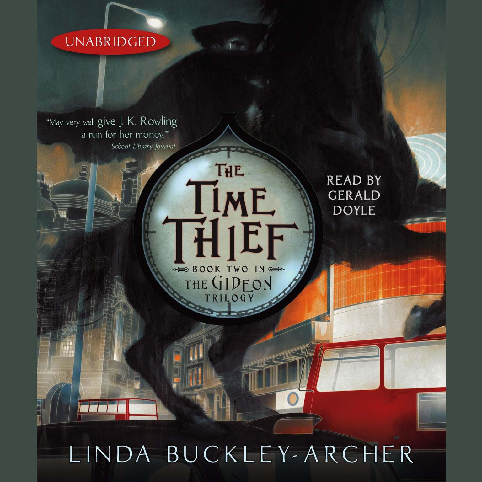 Printable The Time Thief: #2 in the Gideon Trilogy Audiobook Cover Art
