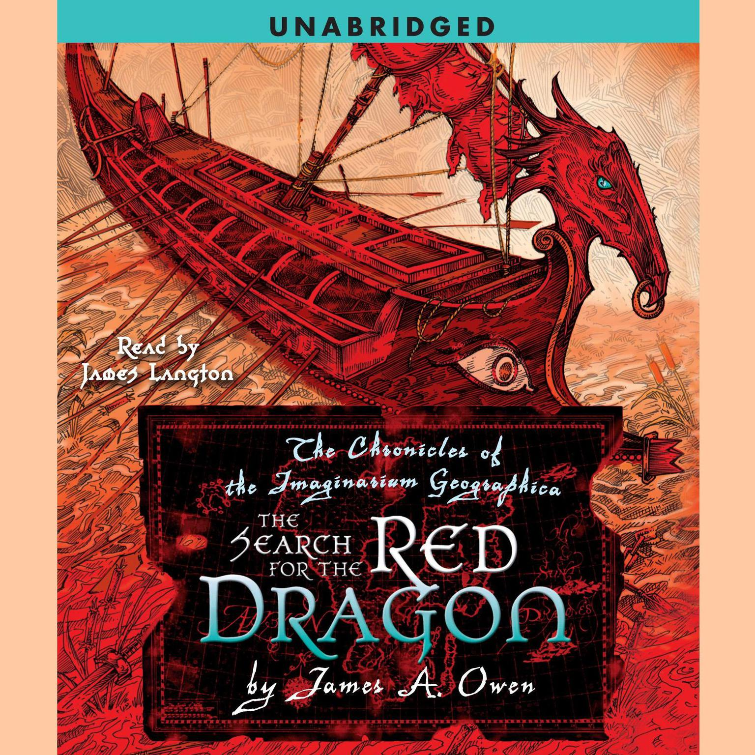 Printable The Search for the Red Dragon: The Chronicles of the Imaginarium Geographica, Book 2 Audiobook Cover Art