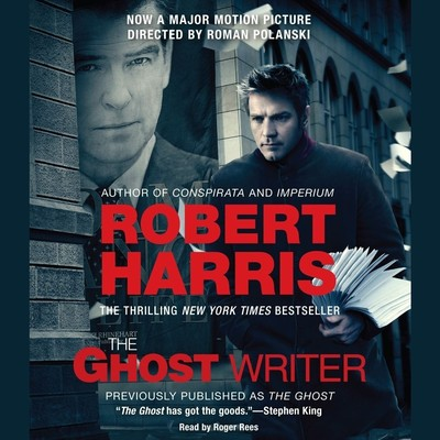 The Ghost Writer: A Novel Audiobook, by Robert Harris