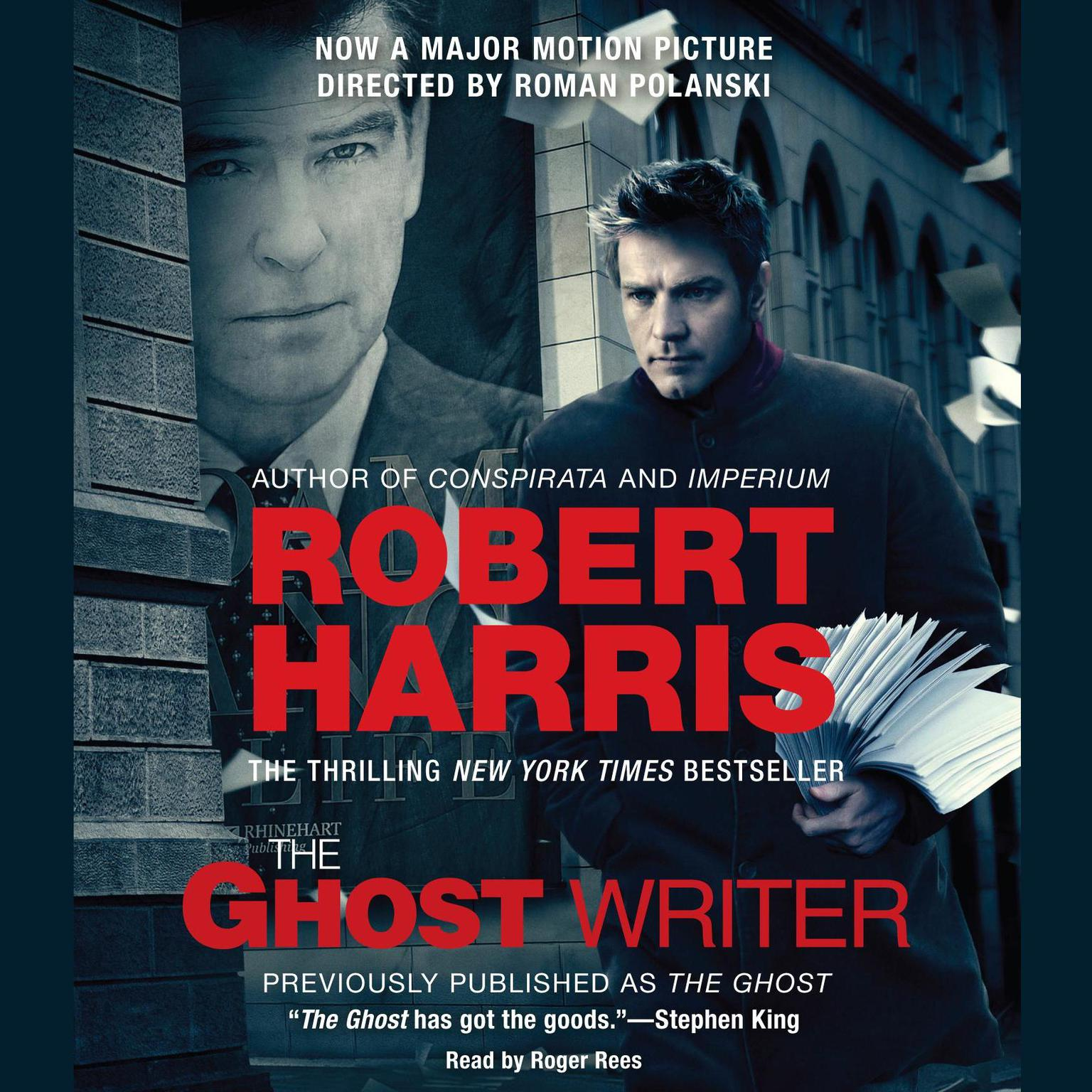 Printable The Ghost: A Novel Audiobook Cover Art