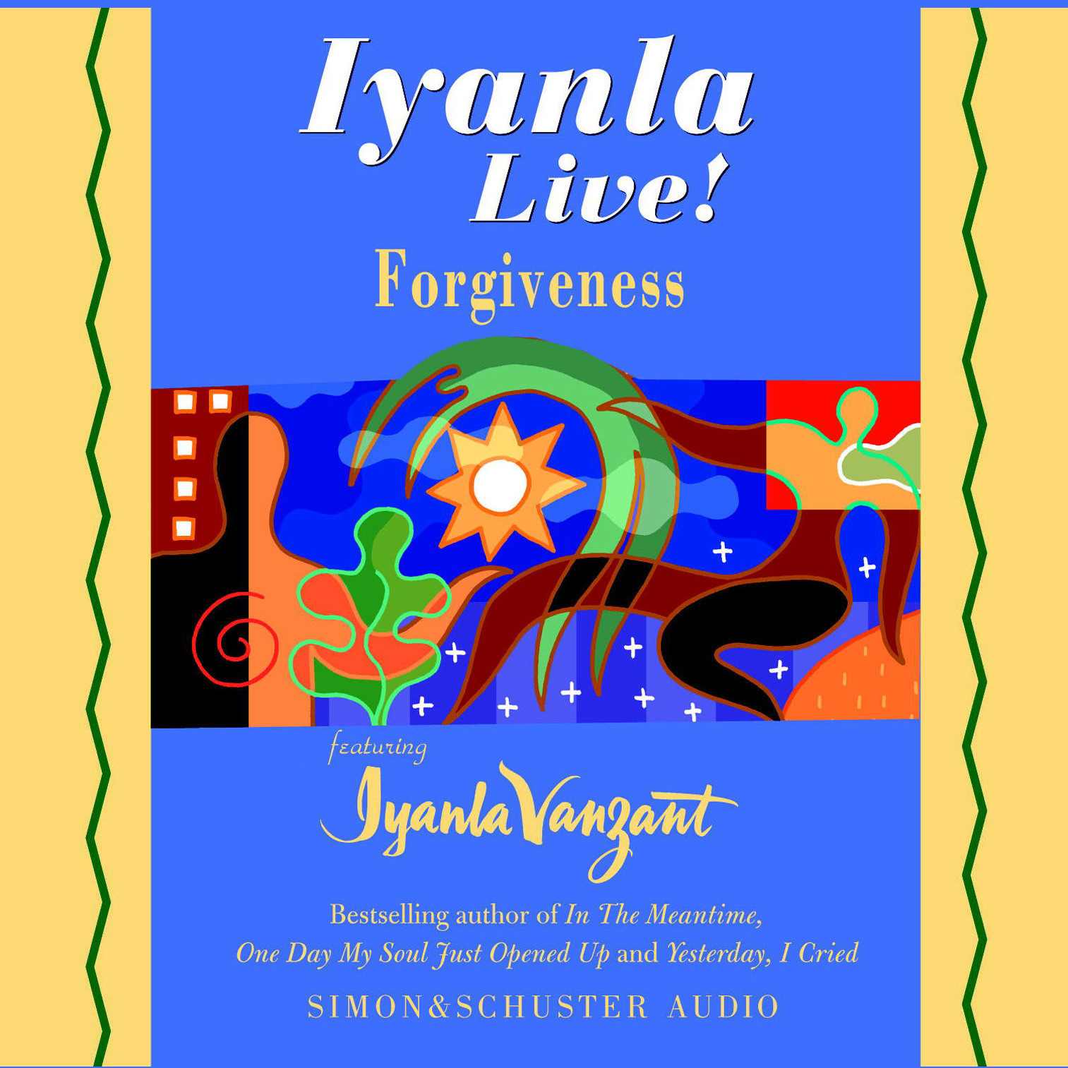 Printable Iyanla Live! Forgiveness Audiobook Cover Art
