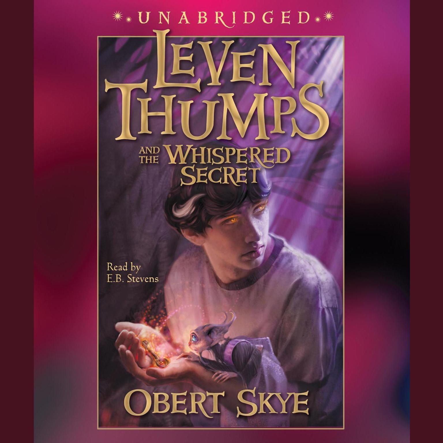 Printable Leven Thumps and the Whispered Secret Audiobook Cover Art