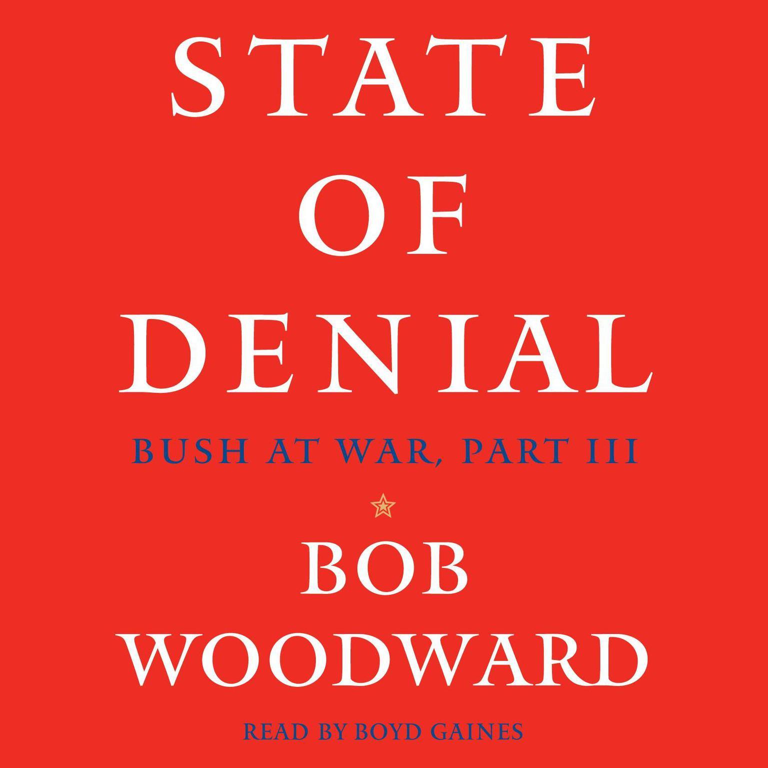 Printable State of Denial: Bush at War, Part III Audiobook Cover Art