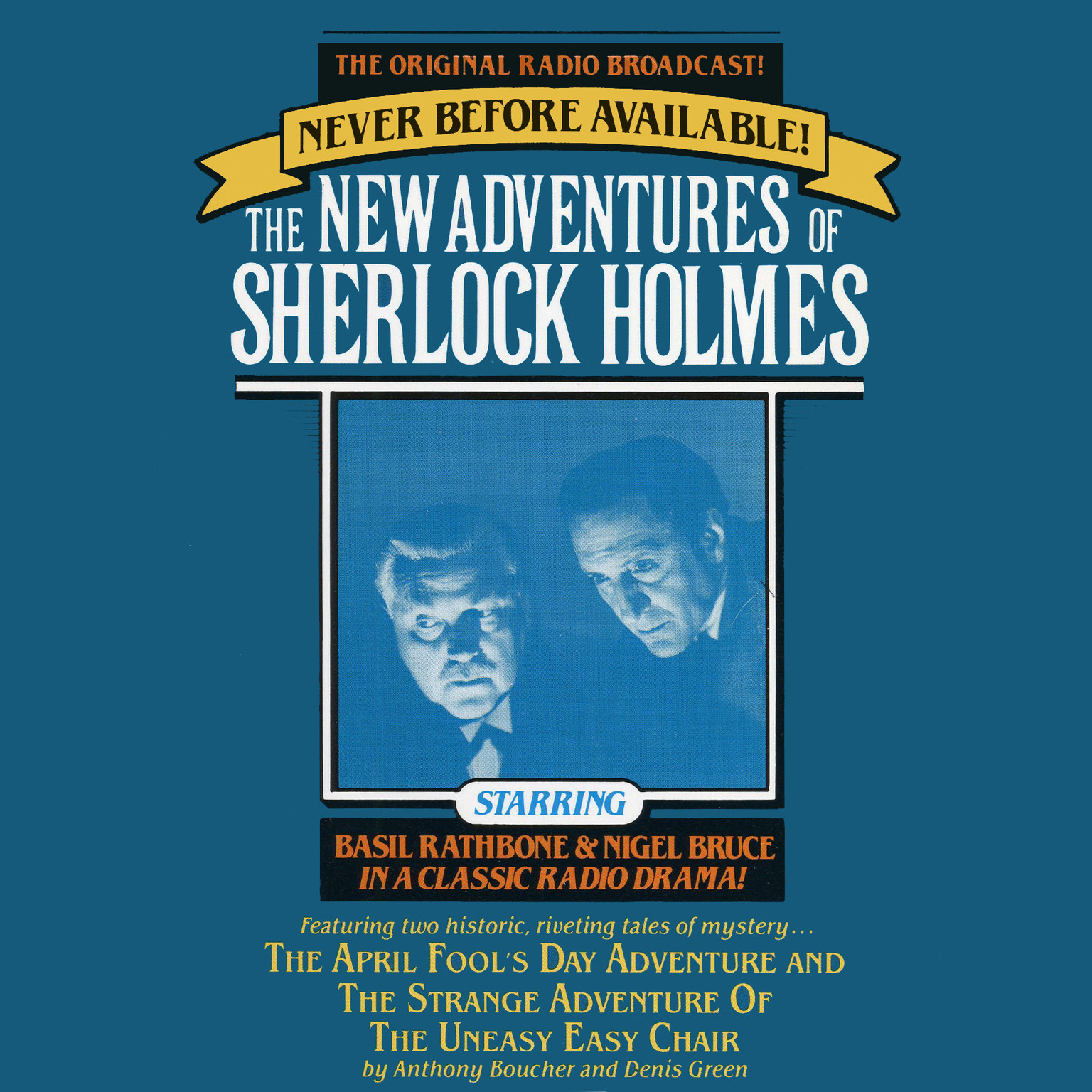Printable The April Fool's Day Adventure and The Strange Adventure of the Uneasy Easy Chair: The New Adventures of Sherlock Holmes, Episode 3 Audiobook Cover Art