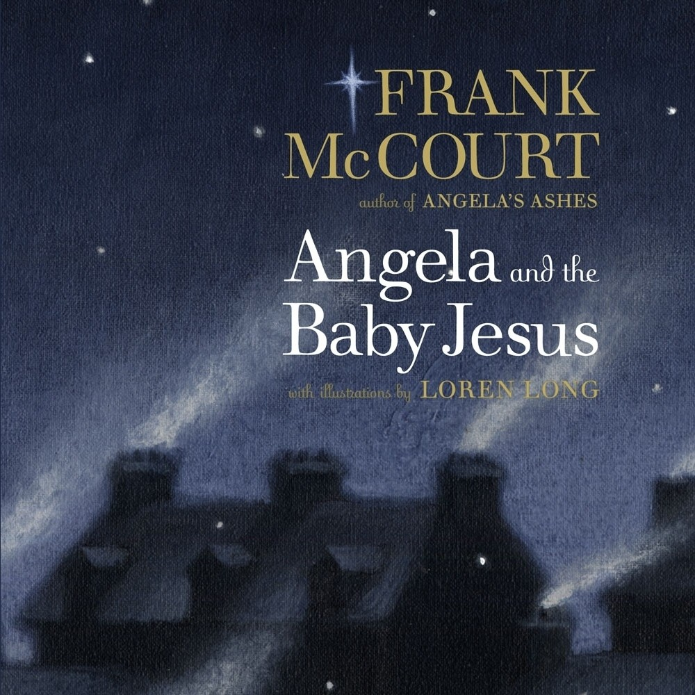 Printable Angela and the Baby Jesus Audiobook Cover Art