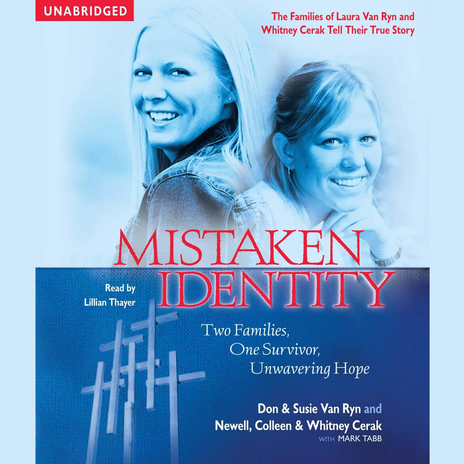 Printable Mistaken Identity: Two Families, One Survivor, Unwavering Hope Audiobook Cover Art