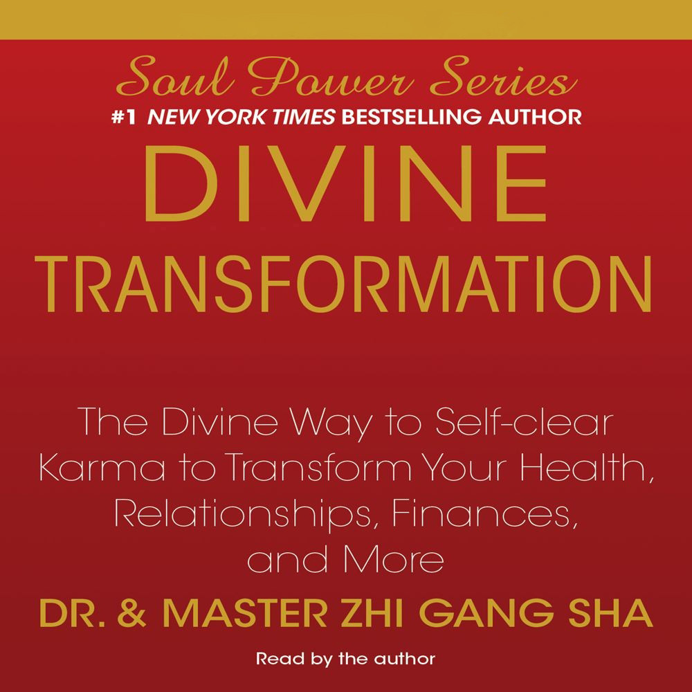Printable Divine Transformation: The Divine Way to Self-clear Karma to Transform Your Health, Relationships, Finances, and More Audiobook Cover Art