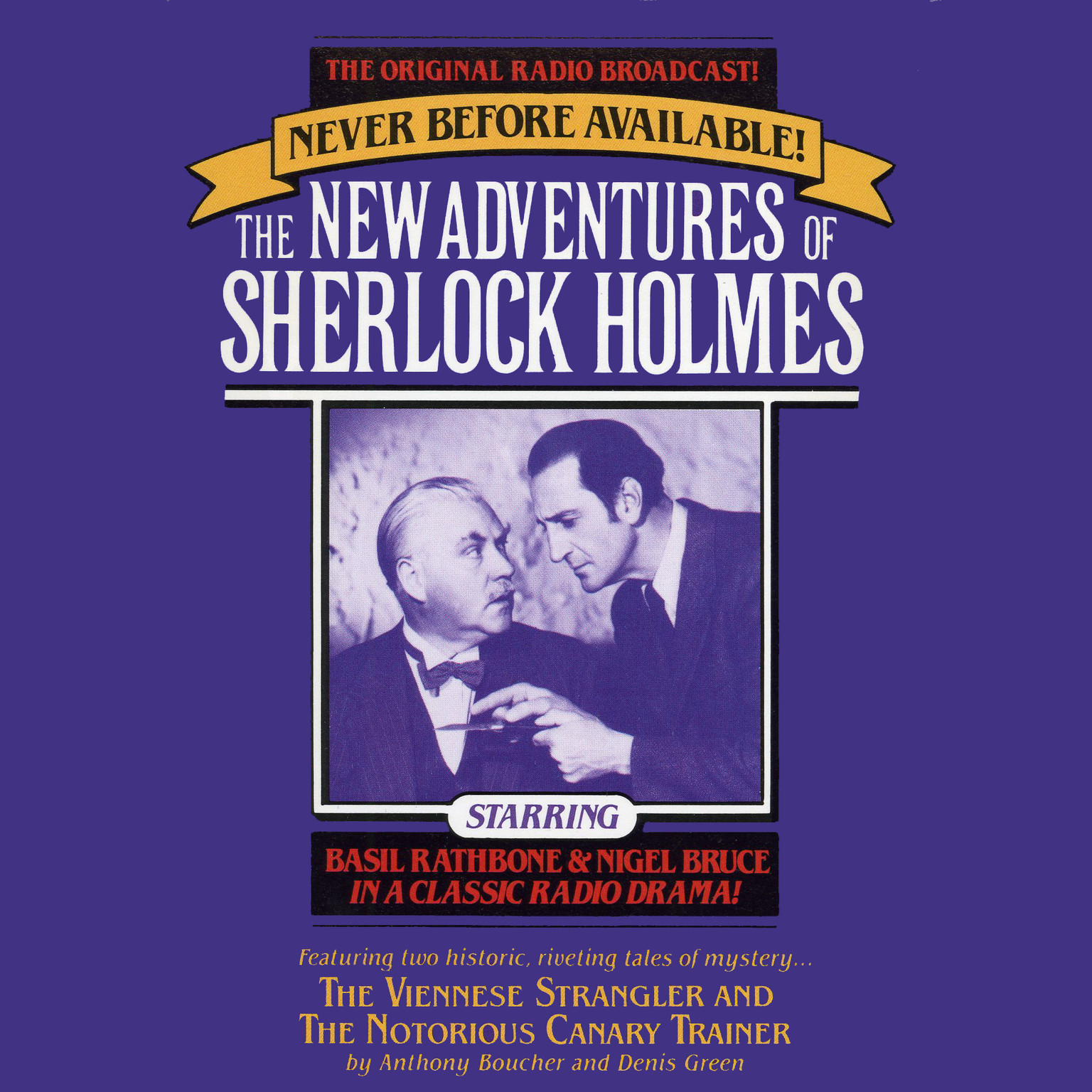 Printable The Viennese Strangler and The Notorious Canary Trainer: The New Adventures of Sherlock Holmes, Episode 2 Audiobook Cover Art