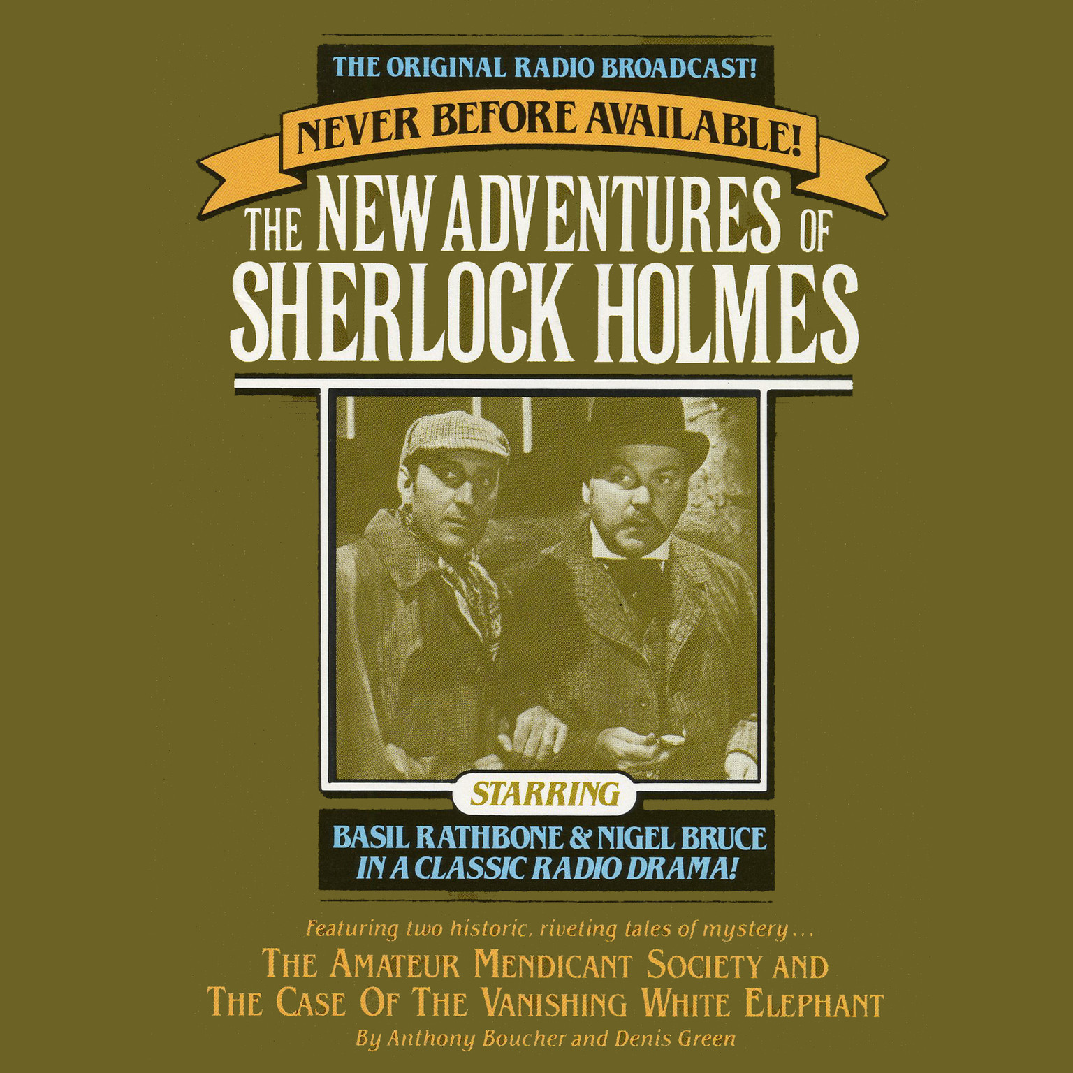 Printable The Amateur Mendicant Society and Case of the Vanishing White Elephant: The New Adventures of Sherlock Holmes, Episode 5 Audiobook Cover Art