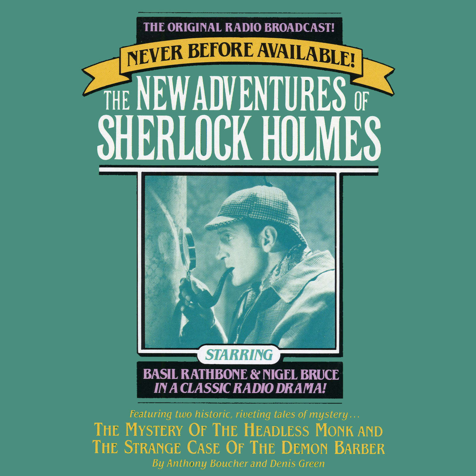 Printable The Mystery of the Headless Monk and The Strange Case of the Demon Barber: The New Adventures of Sherlock Holmes, Episode 4 Audiobook Cover Art