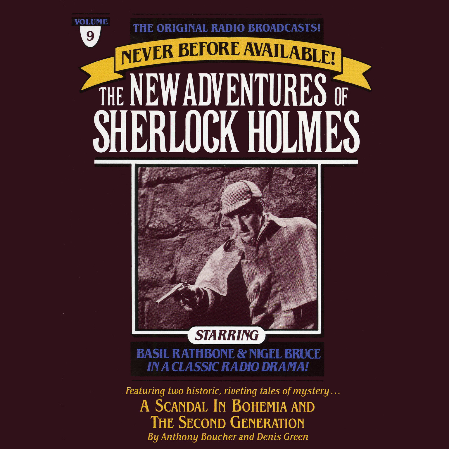 Printable A Scandal in Bohemia and The Second Generation: The New Adventures of Sherlock Holmes, Episode 9 Audiobook Cover Art