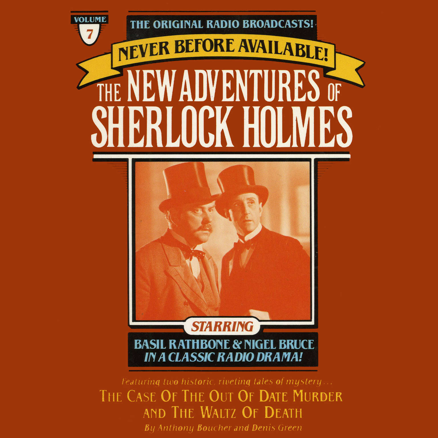 Printable The Case of the Out of Date Murder and The Waltz of Death: The New Adventures of Sherlock Holmes, Episode 7 Audiobook Cover Art