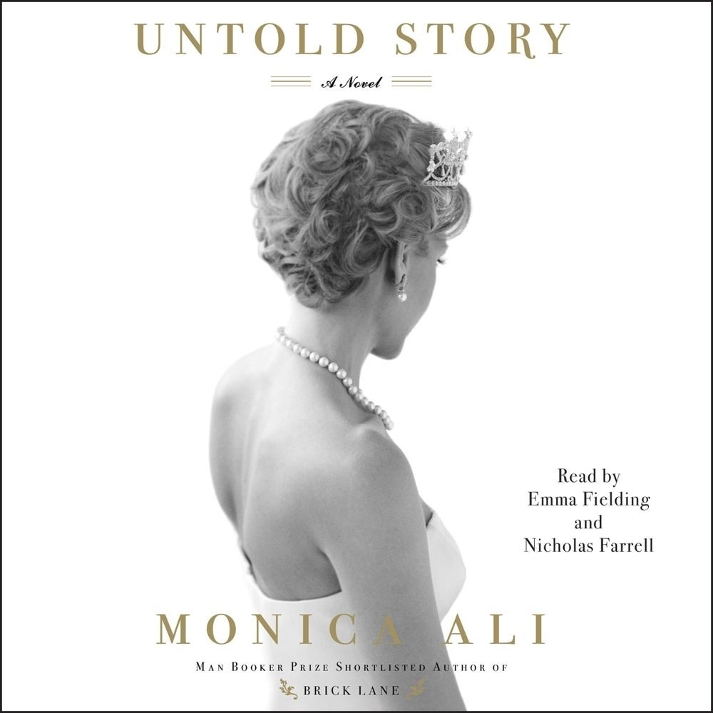 Printable Untold Story: A Novel Audiobook Cover Art