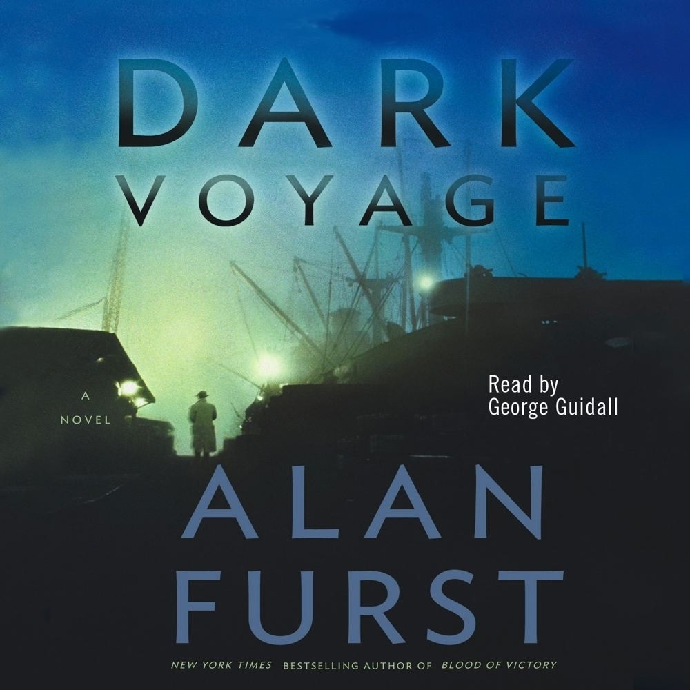 Printable Dark Voyage Audiobook Cover Art