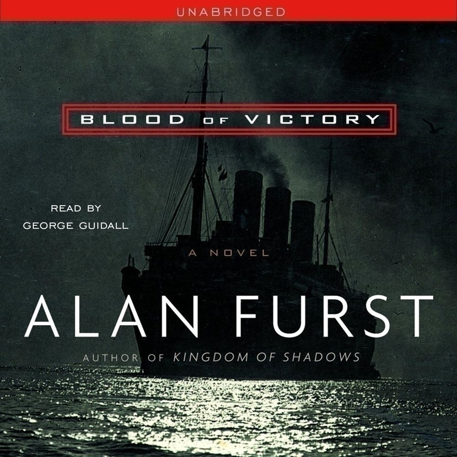 Printable Blood of Victory Audiobook Cover Art