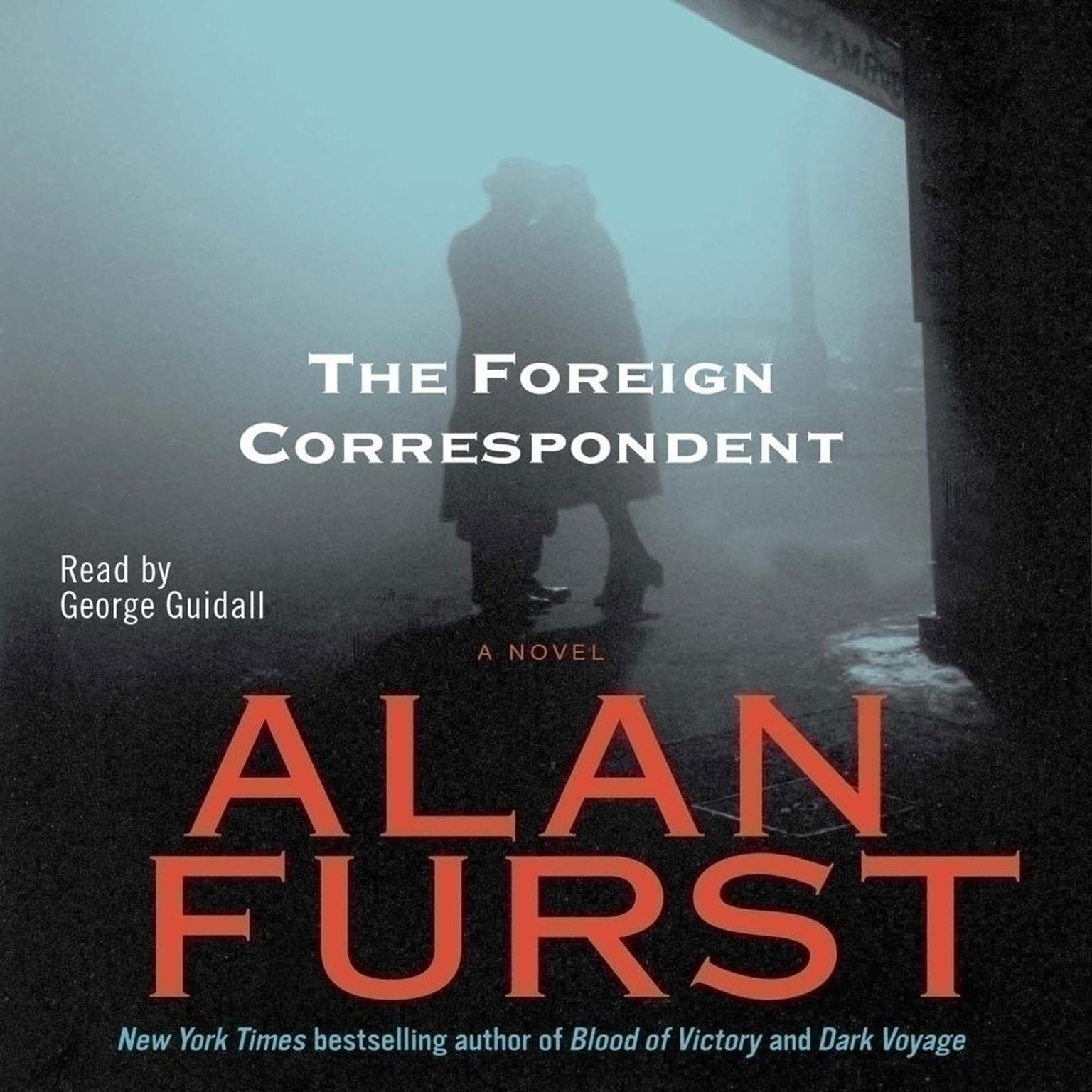 Printable Foreign Correspondent Audiobook Cover Art