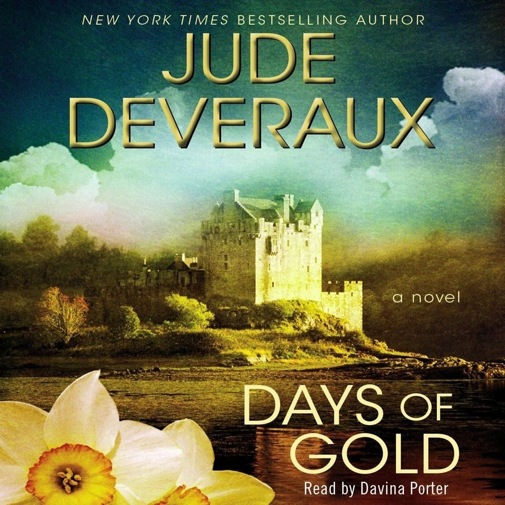 Printable Days of Gold: A Novel Audiobook Cover Art