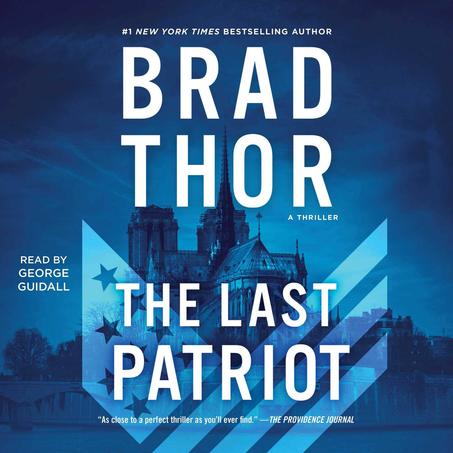 Printable Last Patriot Audiobook Cover Art