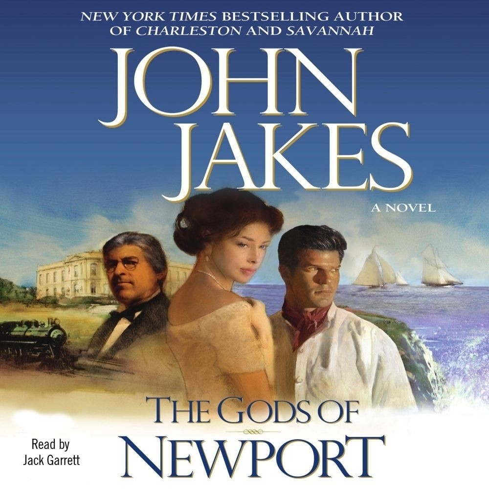 Printable Gods of Newport Audiobook Cover Art