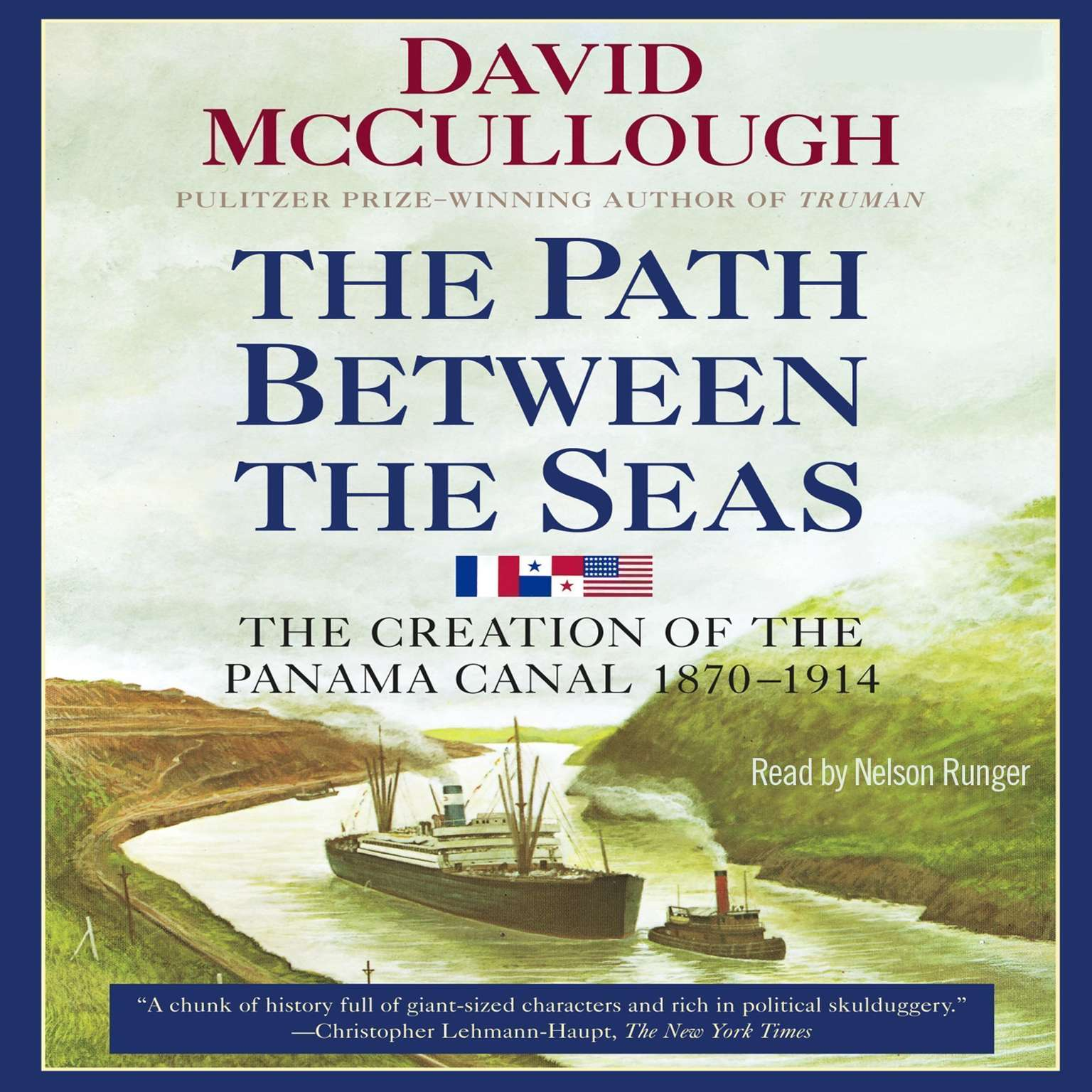 Printable Path Between the Seas: The Creation of the Panama Canal, 1870–1914 Audiobook Cover Art