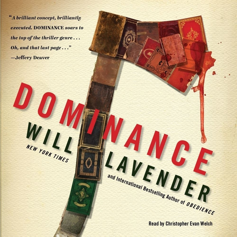 Printable Dominance: A Novel Audiobook Cover Art