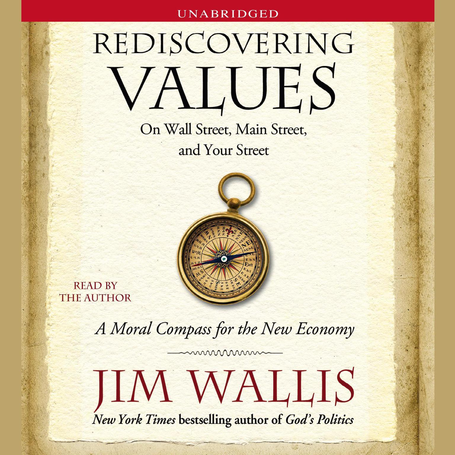 Printable Rediscovering Values: On Wall Street, Main Street, And Your Street Audiobook Cover Art