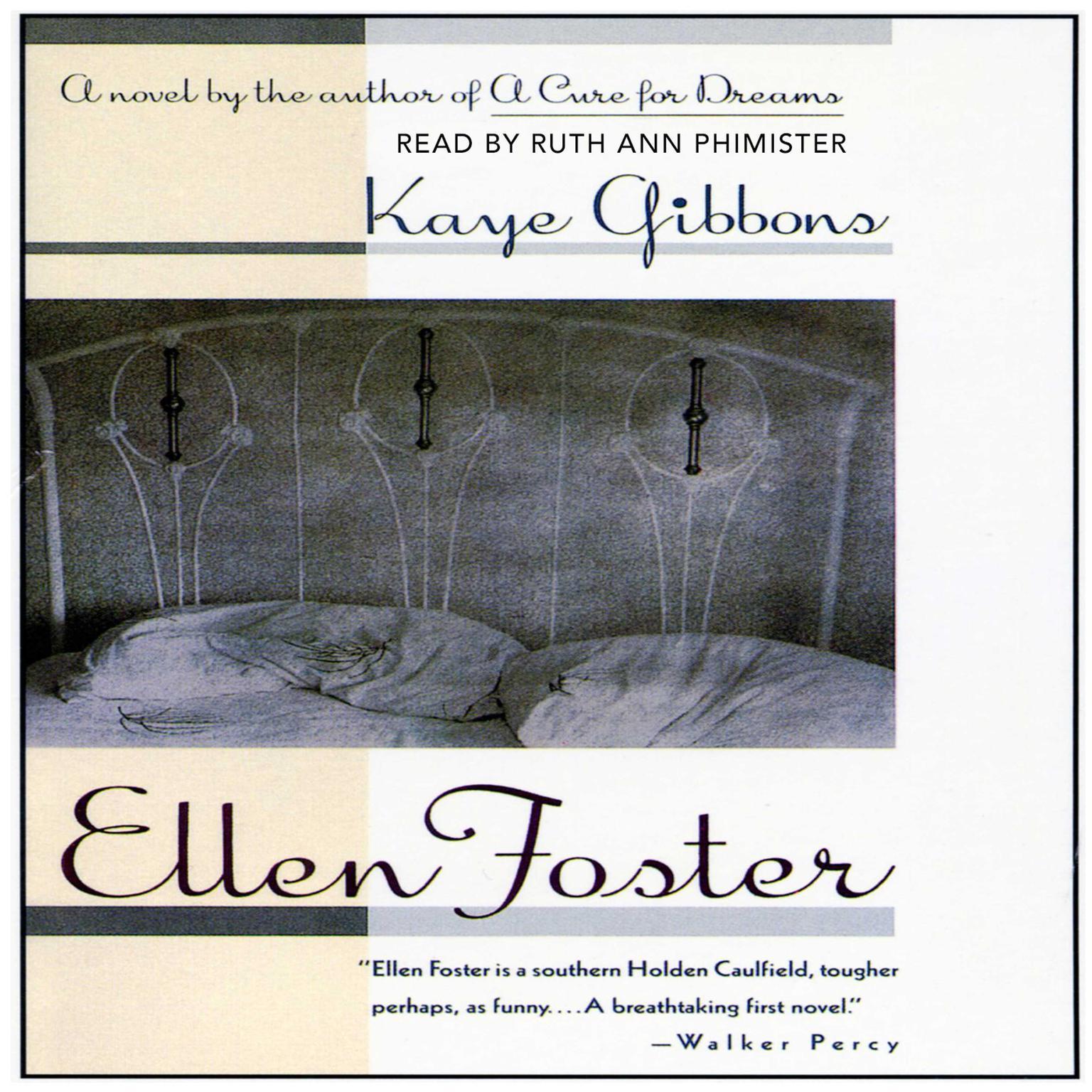 Printable Ellen Foster Audiobook Cover Art