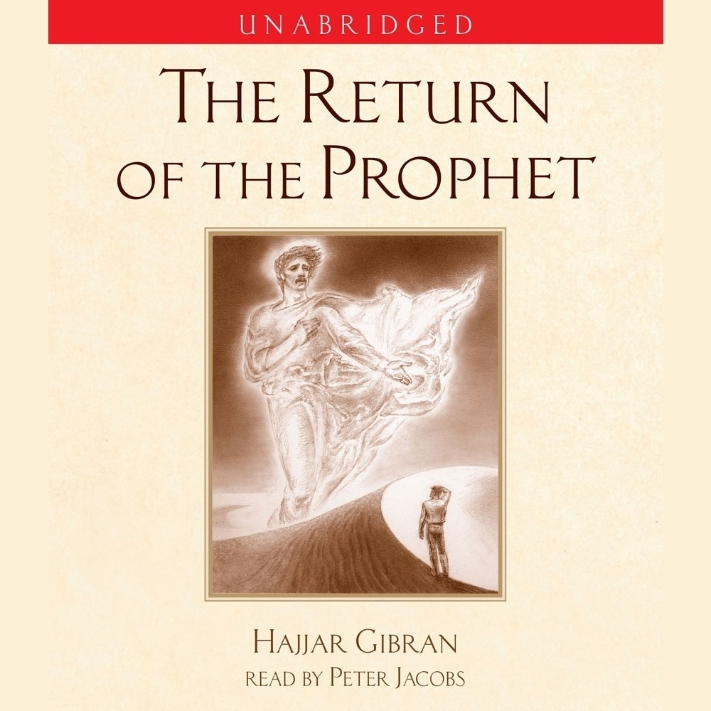 Printable The Return of the Prophet Audiobook Cover Art