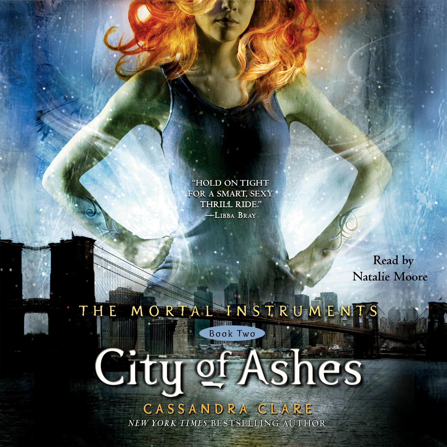 Printable City of Ashes Audiobook Cover Art